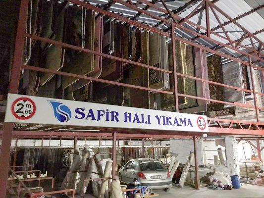 nilüfer safir halı yıkama fabrikası